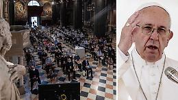 """Settimana Liturgica  a Cremona, il Papa: """"Riscopriamo il valore della messa domenicale"""""""
